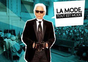 On y sera : au cours magistral de Karl Lagerfeld
