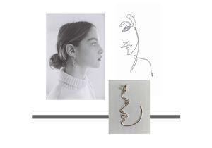 #ELLEfashioncrush : les boucles d'oreilles signées Helena Soubeyrand