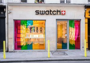 #ELLEfashionspot : le pop-up arty de Swatch