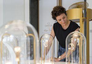 L'instant mode : Garance Doré à l'exposition de montres Omega à Milan