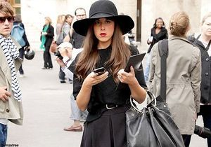 Les fashionistas au top pour la fashion week de Paris !