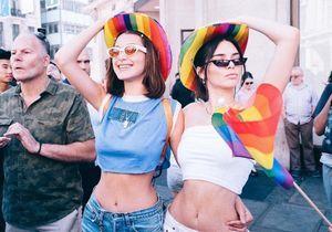 Kendall Jenner et Bella Hadid célèbrent la Gay Pride à Londres