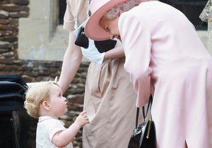 Comment le prince George surnomme-t-il la reine d'Angleterre ?