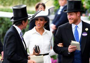Harry et Meghan : roi et reine de l'élégance pour la course hippique Ascot