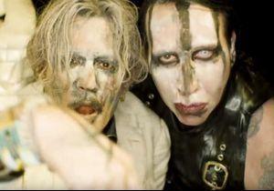 Johnny Depp méconnaissable et effrayant dans une nouvelle vidéo