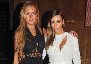Kim Kardashian et Lindsay Lohan se crêpent le chignon sur Instagram