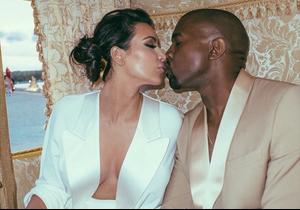 Kim Kardashian fête son année de mariage avec Kanye West sur Instagram