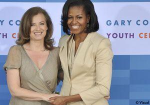Twitter : Valérie Trierweiler copine avec Michelle Obama