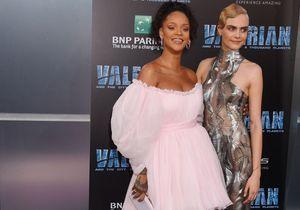 """Cara Delevingne et Rihanna fêtent leur nouveau film, """"Valerian"""", de Luc Besson"""