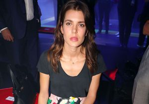 Charlotte Casiraghi, star des premiers rangs de la Fashion Week de Milan