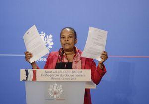 Dans la tourmente, Christiane Taubira défend ses positions