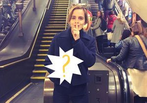 Emma Watson : devinez ce qu'elle a caché dans le métro