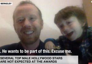 On adore la vidéo de cet enfant qui vient perturber le direct de son père à la télé