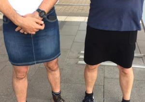 Pourquoi ces hommes ont troqué leurs pantacourts contre des jupes ?