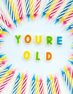 Les 30 preuves qui montrent que vous avez vieilli