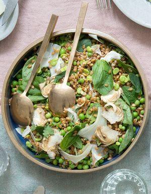 Salades compos es recettes de cuisine salades compos es - Cuisiner le petit epeautre ...