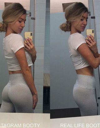 Les fesses sur Instagram VS les vraies fesses : cette blogueuse fitness nous décomplexe