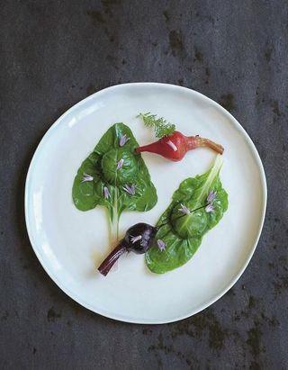 Ravioles végétales au foie gras