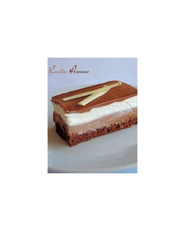 Super Gâteau 3 chocolats pour 10 personnes - Recettes Elle à Table MY76