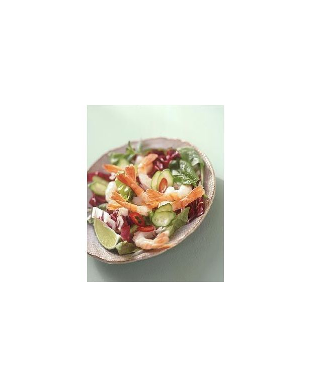 Préférence Salade de crevettes à la thaïlandaise pour 4 personnes - Recettes  BX25