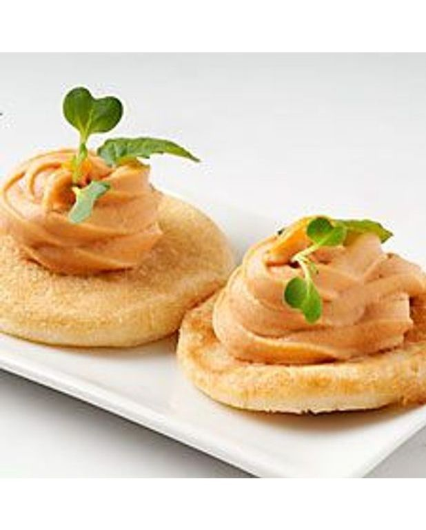 Canape mousse de saumon fume for Canape au saumon