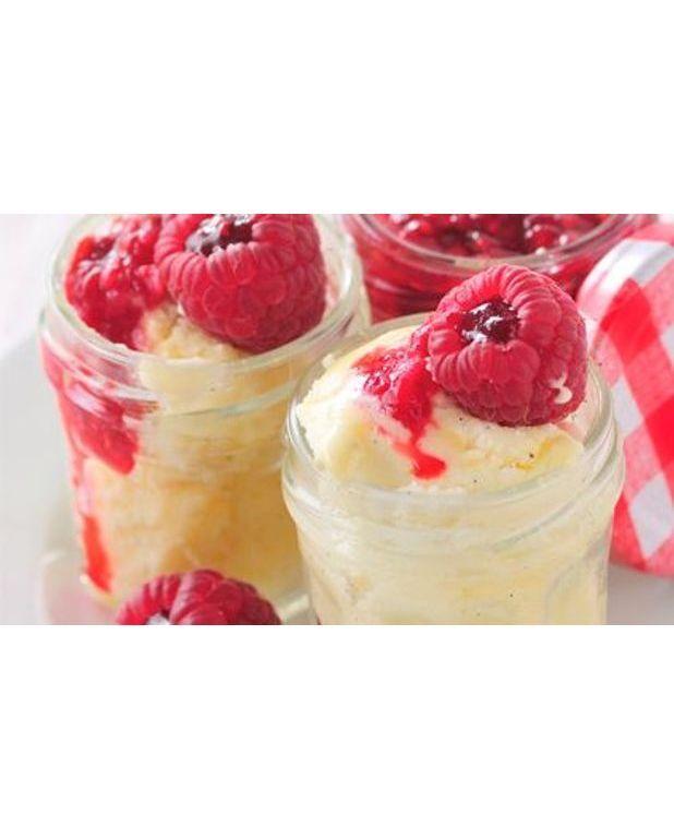 Chaud froid la vanille et bisous fruit s framboise pour 6 personnes recettes elle table - A bon verre bonne table recettes ...