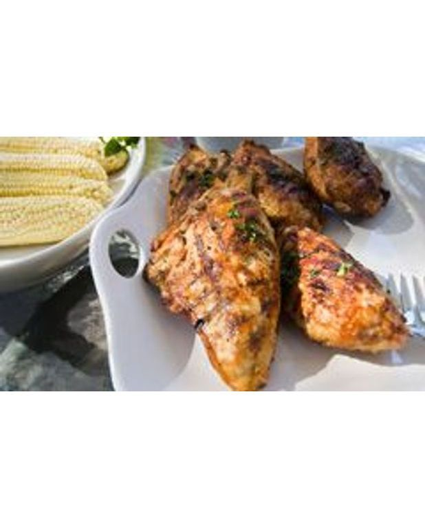 Poulet grill sauce soja barbecue recettes elle table for Marinade poulet barbecue curry