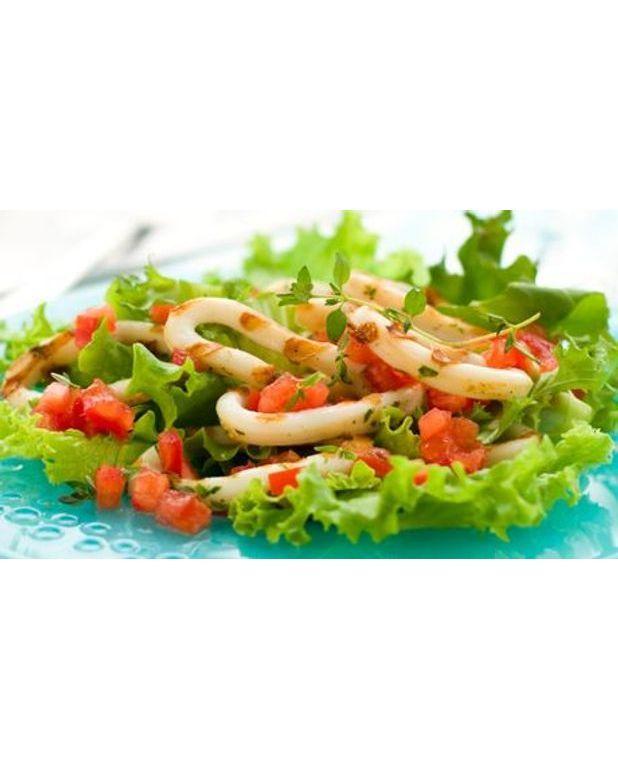 salade d encornets pour 4 personnes recettes 224 table