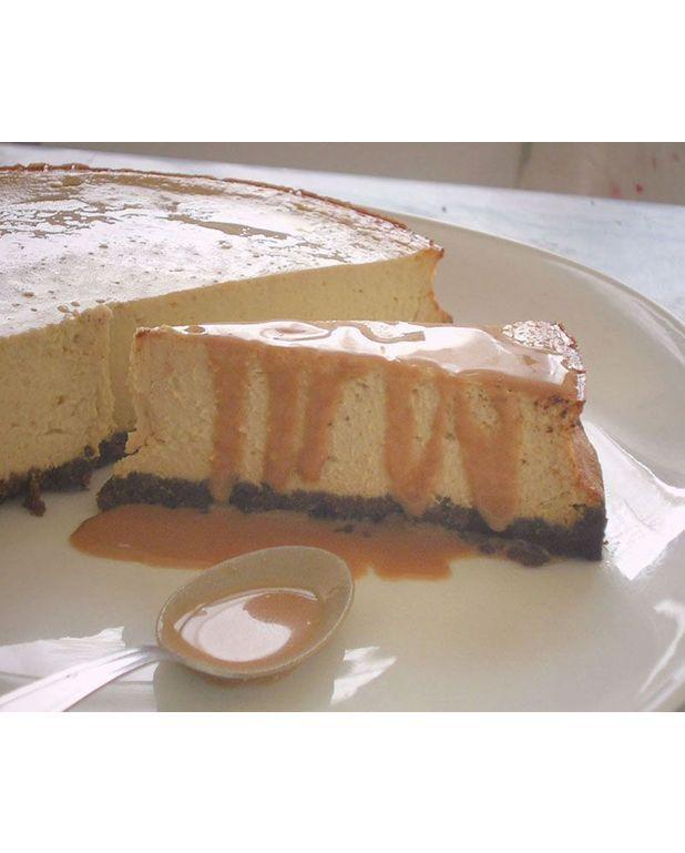 Cheesecake banane caramel aux fruits de la passion pour 8 personnes recettes elle table - Cheesecake fruit de la passion ...