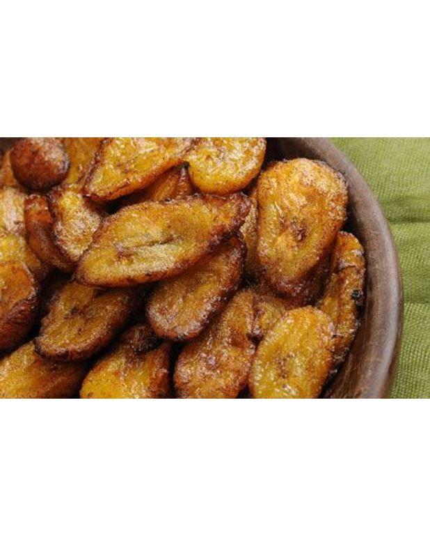Bananes plantain frites pour 4 personnes recettes elle - Comment cuisiner les bananes plantain ...