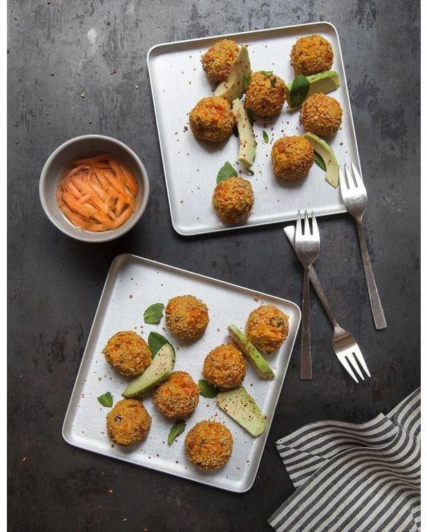 Boulettes carottes feta menthe pour 4 personnes recettes elle table - A bon verre bonne table recettes ...