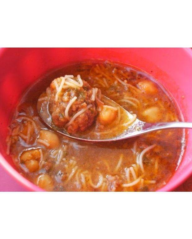 Chorba aux boulettes et vermicelles pour 6 personnes recettes elle table - A bon verre bonne table recettes ...