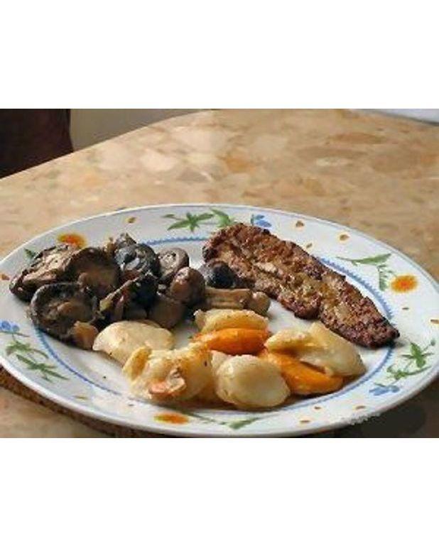 Coquilles saint jacques aux c pes et au foie gras de canard pour 6 personnes - Dosage sel et poivre pour foie gras ...