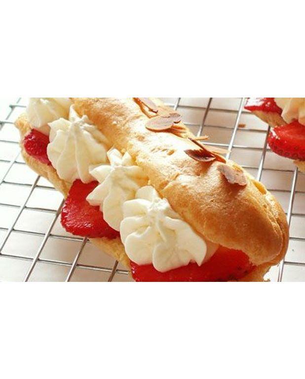 couronne de p 226 te 224 choux aux fraises pour 6 personnes recettes 224 table