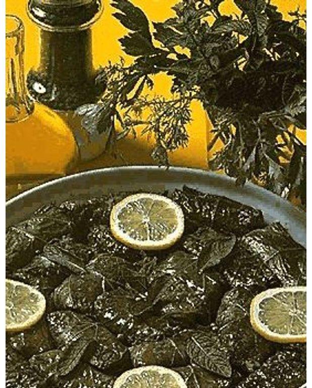Feuilles de vigne farcies pour 4 personnes recettes elle table - Feuille de cuisine ...
