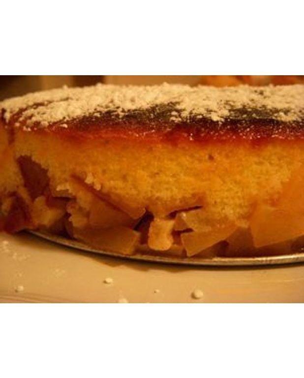 gâteau de ménage aux pommes pour 8 personnes - recettes elle à table