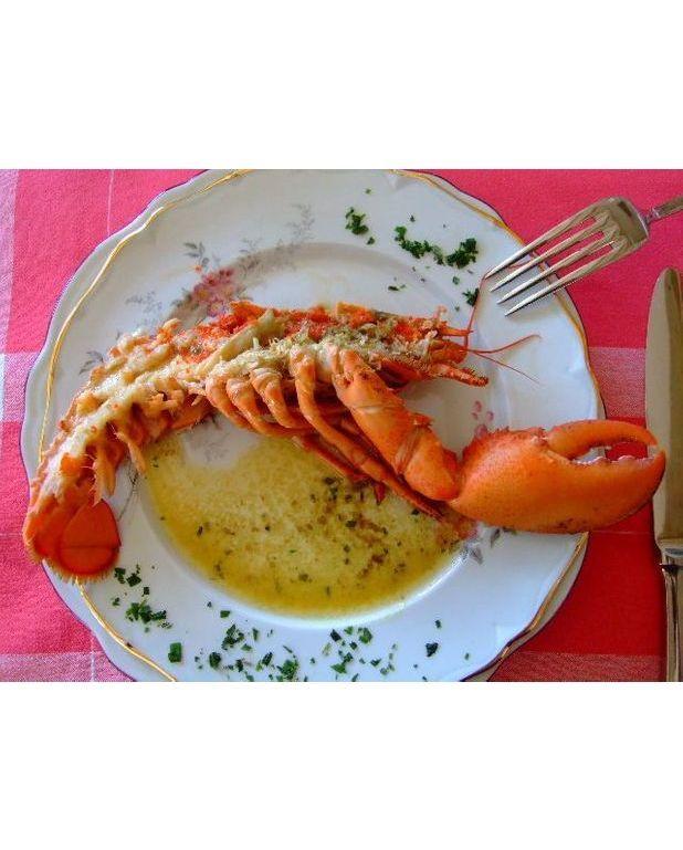Homards grilles au beurre d estragon pour 4 personnes - Recette homard grille ...