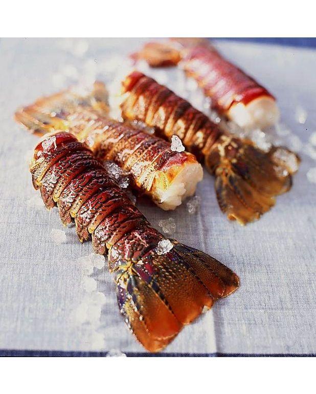 Langouste grill e au basilic recettes elle table - Recette de langouste grillee antillaise ...