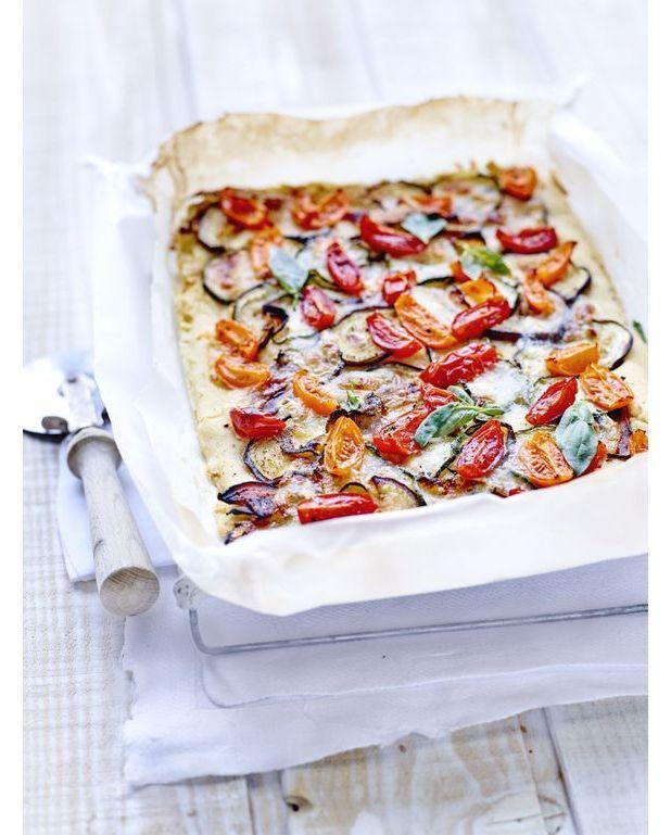 Petite pizza veggie pour 8 personnes recettes elle table for Petite table de cuisine pour 2 personnes