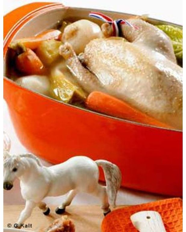 poule au pot b 233 arnaise pour 6 personnes recettes 224 table