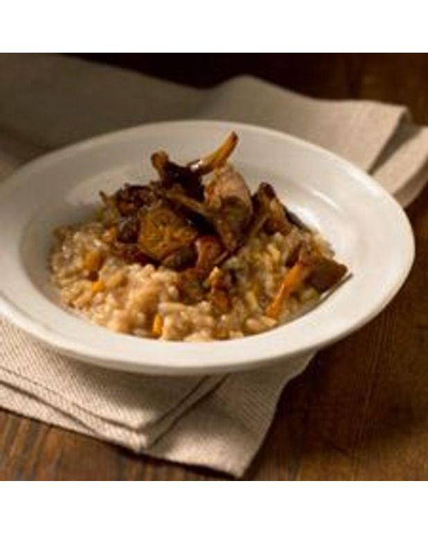 risotto aux champignons frais pour 4 personnes recettes elle table. Black Bedroom Furniture Sets. Home Design Ideas