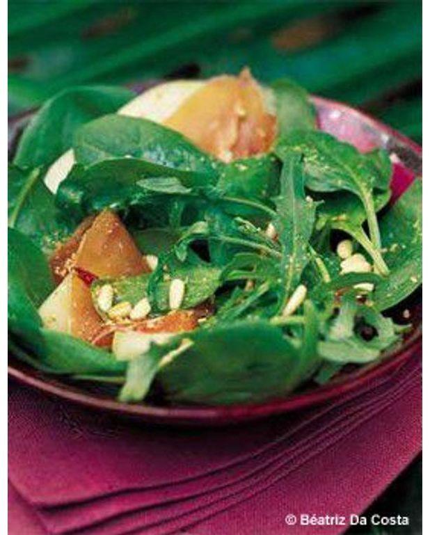 Salade de filles pour 4 personnes recettes elle table for 2 filles en cuisine lyon