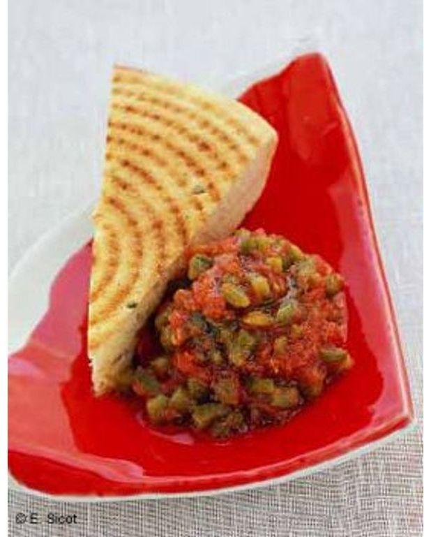 Salade de l gumes grill s pour 6 personnes recettes elle table - Recette legumes grilles au four ...