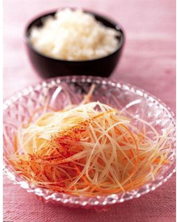 salade de papaye riz cristal pour 4 personnes recettes elle table. Black Bedroom Furniture Sets. Home Design Ideas