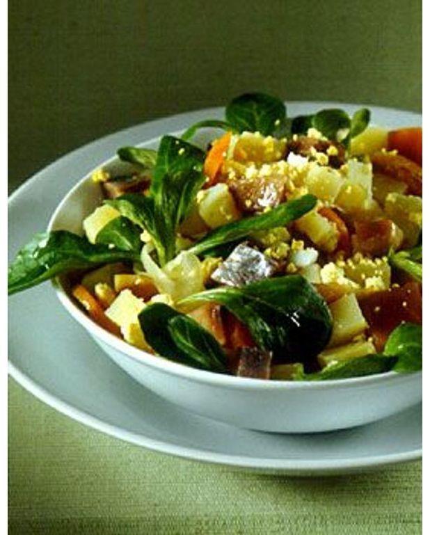 Salade rapide pour 4 personnes recettes elle table for Astuce cuisine rapide