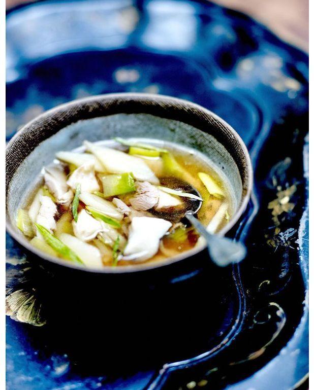 Soupe parisienne au th et poisson miett pour 4 - Cuisine soupe de poisson ...