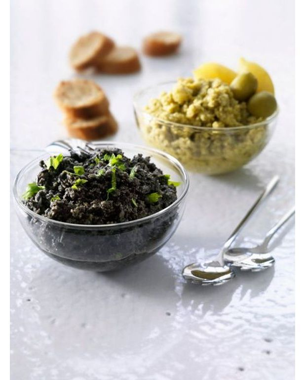 tapenade aux olives et aux amandes recettes elle table. Black Bedroom Furniture Sets. Home Design Ideas