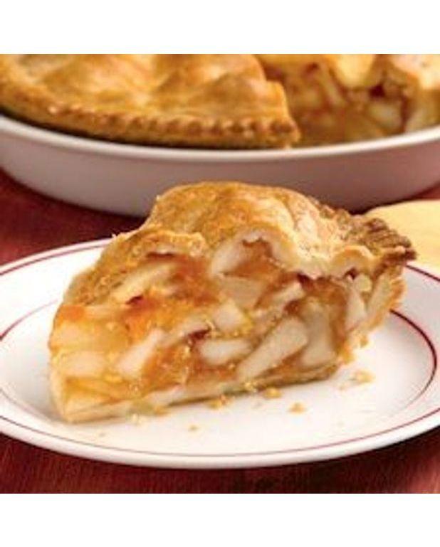 Recettes Tarte Aux Pommes: Tarte Aux Pommes Et Au Miel Pour 10 Personnes