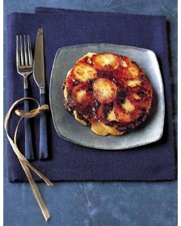 Tatin de pommes de terre et morilles pour 6 personnes recettes elle table - A bon verre bonne table recettes ...