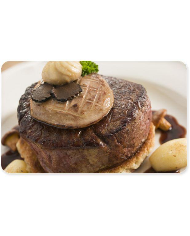 Tournedos rossini sauce p rigueux pour 4 personnes - Cours de cuisine perigueux ...